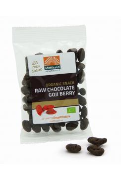 Biologische Choco Goji Bessen - Raw snack - 35 g