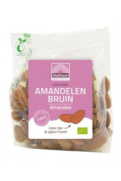 Biologische Bruine Amandelen - Ongebrand - 200 g