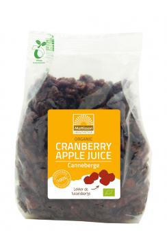 Biologische Cranberries met Appeldiksap - 400 g