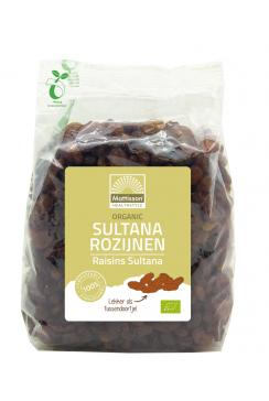 Biologische Sultana Rozijnen - 500 g